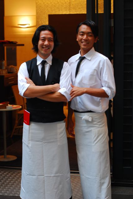 Cute waiters