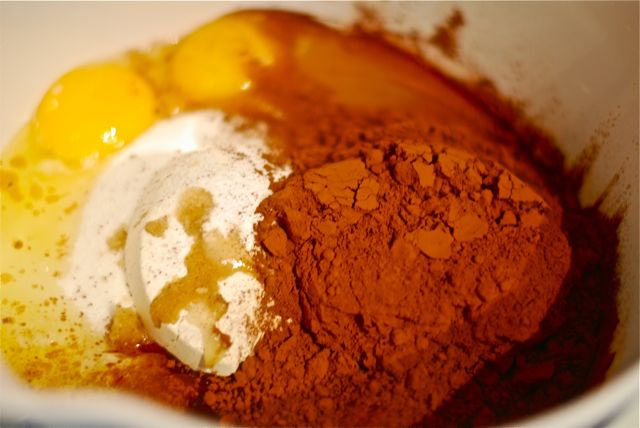 Chocolate batter